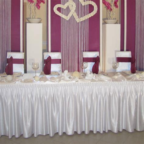 Hochzeitsdeko Shop G Nstig by Skirting F 252 R Brauttisch G 252 Nstig Mieten Deko Point