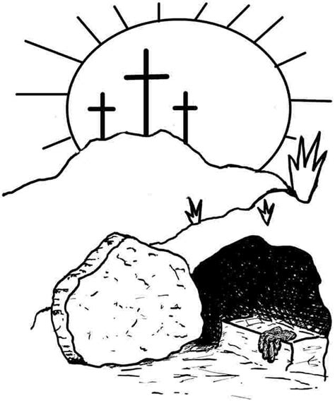 Religious Easter Coloring Pages For Printable by Free Religious Easter Coloring Pages Coloring Home
