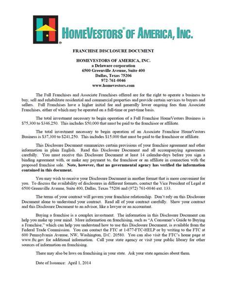 Disclosure Document