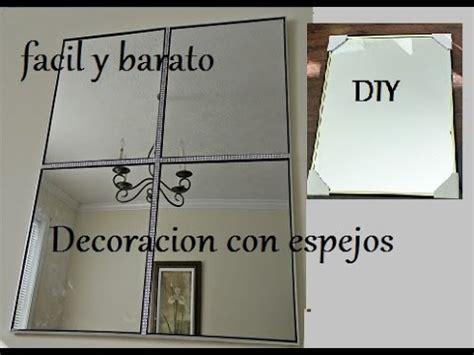 como decorar tus espejos diy decora tus espejos youtube