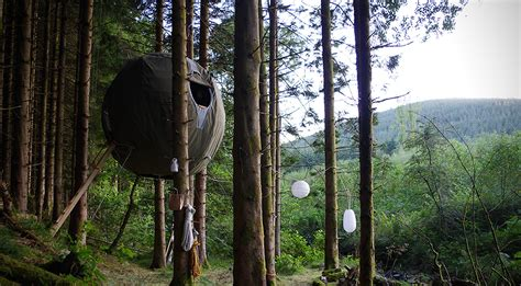 suspended tree suspended tree tent by luminair hiconsumption