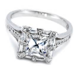 womens engagement rings princess cut wedding rings
