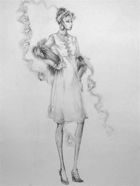 model drawing model drawing sketch fashion