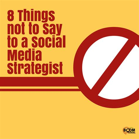 8 Things Not To Do On A Dinner by 8 Things To Not Say To A Social Media Strategist