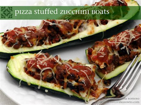 large zucchini pizza boats pizza stuffed zucchini boats pic included mark s daily