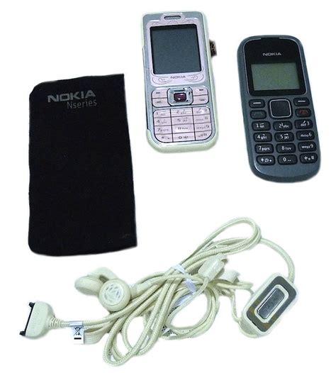 nokia mobile set nokia 7360 nokia 1280 set of two mobile phones unlocked