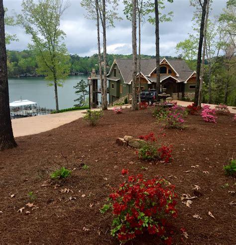 3 Story Open Mountain House Floor Plan Asheville Mountain House Plans Rear View