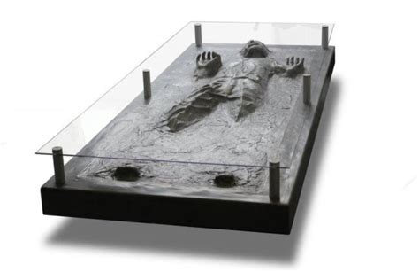 Han Solo In Carbonite Coffee Table Han In Carbonite Coffee Table