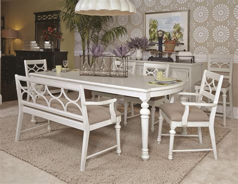dining bench white beautiful vintage antique white dining set with bench in