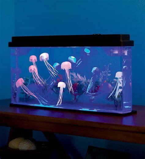 Jellyfish In Aquarium jelly fish tank mood light l jellyfish tank novelty