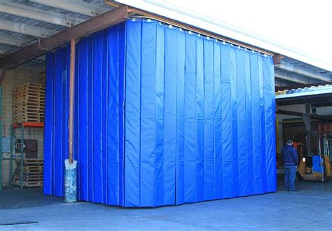 industrial curtain walls retractable industrial acoustical curtains acoustic