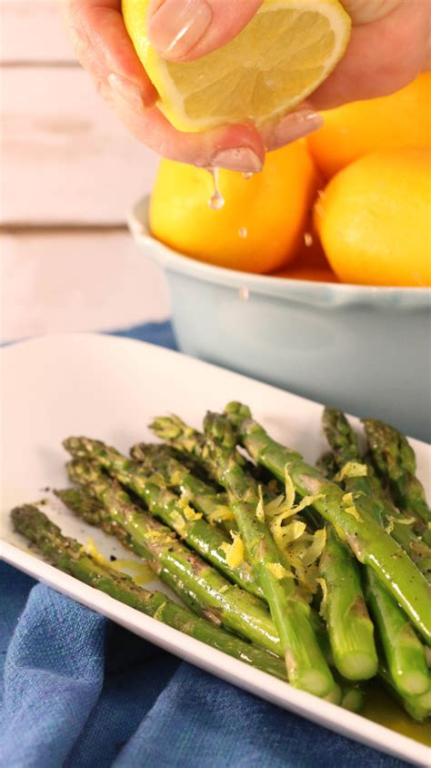 dish recipes easy easy side dish recipe lemon asparagus