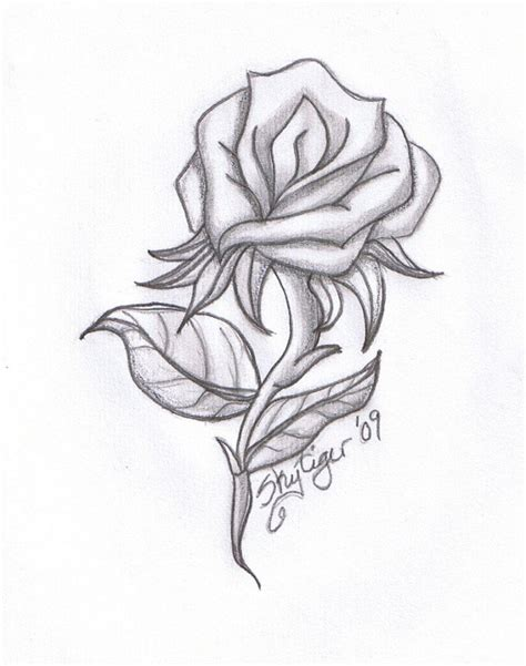 Cool I You Drawings by Cool Drawings Roses I U Drawing Drawings