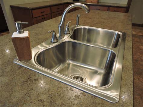 types of drop in kitchen sinks