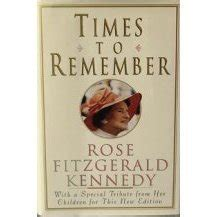 Book Review Do You Remember The Time By Colgan by Times To Remember By Fitzgerald Kennedy Reviews