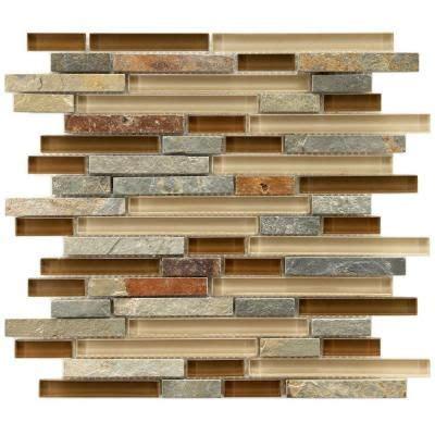 home depot stone tile backsplash ideas saura v dutt stonessaura v merola tile tessera piano brixton 11 5 8 in x 11 3 4 in