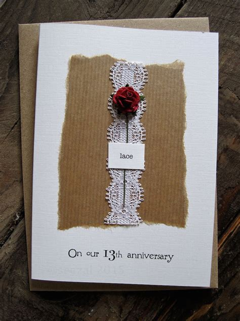 Lace Wedding Anniversary Ideas 13th year lace wedding anniversary gifts for gift