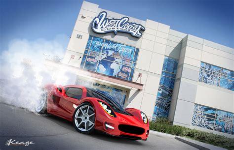 West Coast Customs Tesla Dm Portfolio Automotive Will I Am Custom Tesla
