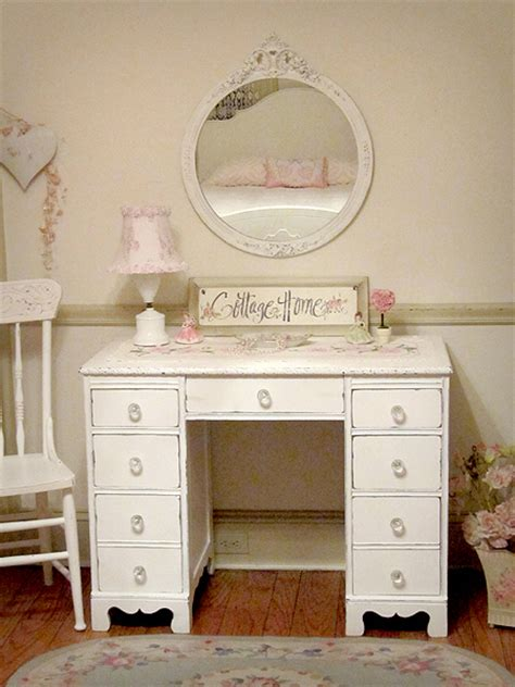 vintage shabby chic vanities forever pink