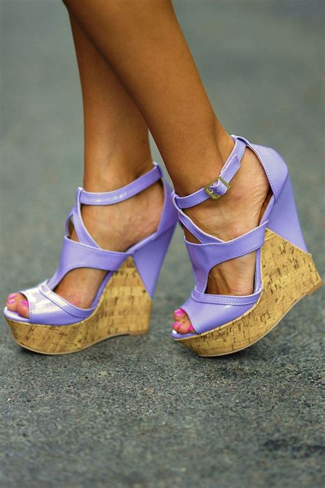 Wedges Yey 17 best ideas about purple wedges on platform