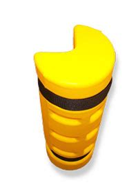 Yellow Jacket Rack Protectors by Rack Sentry End Of Rack Indoff Column Protectors