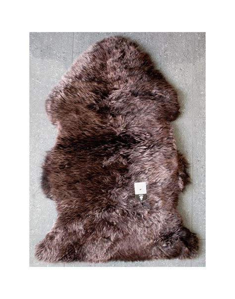 brown faux fur rug chocolate brown sheepskin wool sheepskin rugs brown wool rug