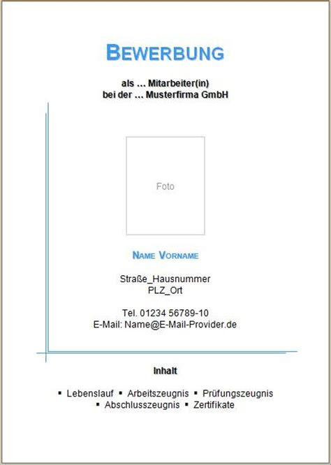 Bewerbung Anlagen Anschreiben Oder Deckblatt Deckblatt F 252 R Meine Bewerbung Hilfe Computer Schule