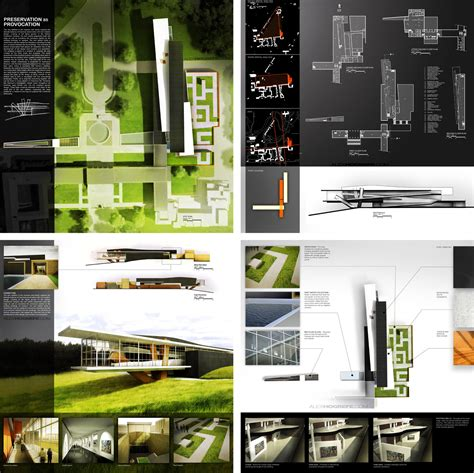 layout presentation board past presentation boards part 3 visualizing architecture