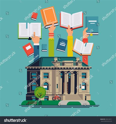 schomburg the who built a library books cool vector concept design on stock vector