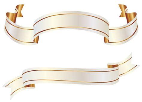 design banner pengantin белый и золотой баннеры png изображения clipart уголки