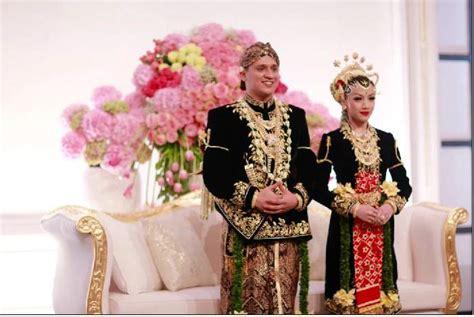 pernikahan adat jawa pernikahan adat jawa modern