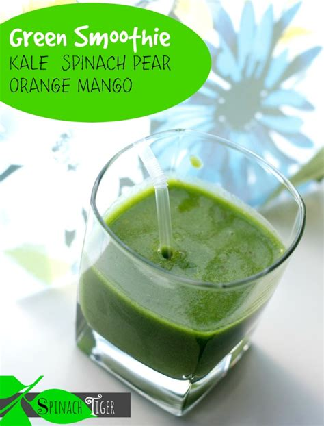 vitamix green smoothie recipes kale two green smoothie recipes using kale and spinach