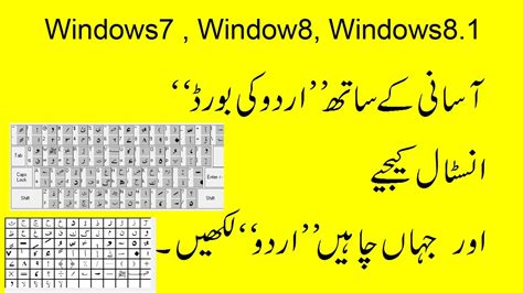 keyboard for windows 7 how to install urdu keyboard on windows 7 and windows 8