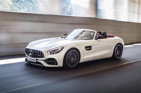 mercedes amg reveals gt roadster  gt  roadster  car
