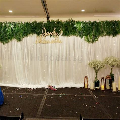 Wedding Stage Backdrop Decor & Rental, Design & Craft