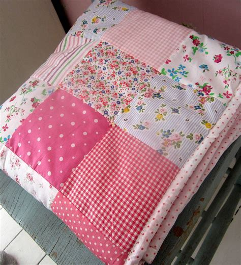 How To Make A Patchwork Quilt - patchwork quilt personalised and boys by the