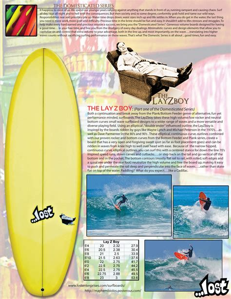 lost couch potato layzboy hotsheet lost surfboards mayhem shapes
