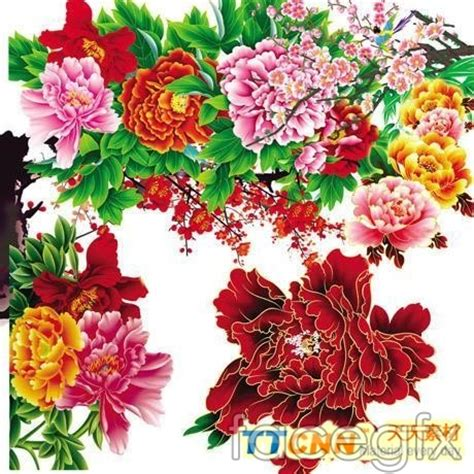 new year flower tradition traditional decorative flower patterns flowers