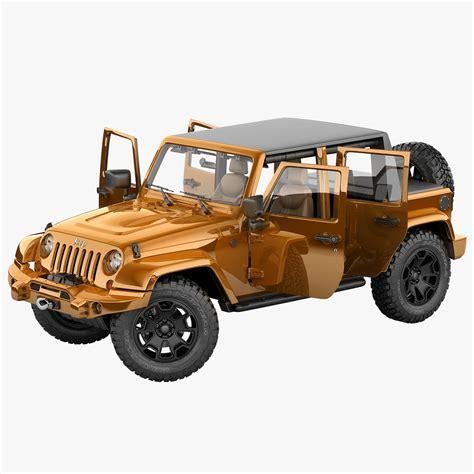 Jeep 8888 2 Semi Ori jeep wrangler moab half max