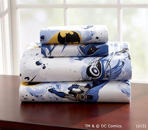 batman sheets and comforter batman sheet set pottery barn kids