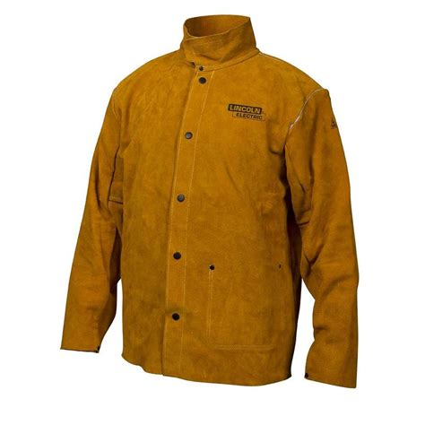 lincoln welder lowes shop lincoln electric leather welding jacket at lowes