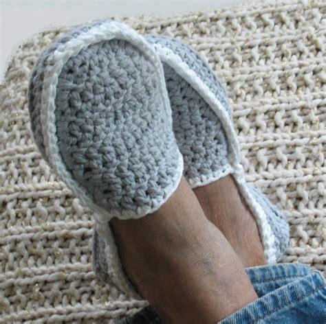 crochet pattern mens house slippers men s house slippers crochet pattern in 5 sizes 3 50