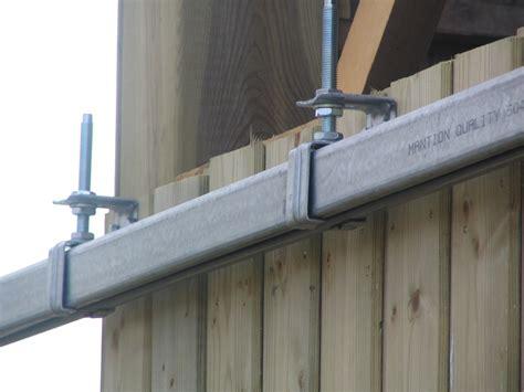 installation thermique rail pour porte coulissante suspendue exterieur