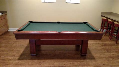 brunswick hawthorn pool table 7 brunswick hawthorn pool table for sale used