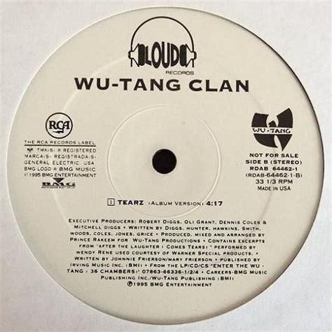 wu tang tearz sle wu tang clan protect ya neck tearz 12 quot groovaholiks