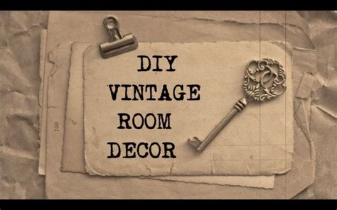 diy vintage room decor diy vintage room decor 2 bronwen