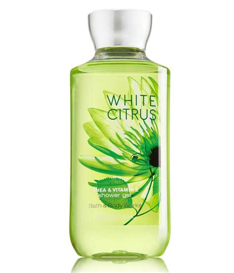 bath and body works white citrus shower gel 295ml buy