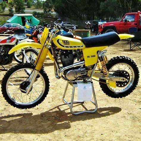 vintage yamaha motocross bikes 245 best xt500 images on bicycles bicycling