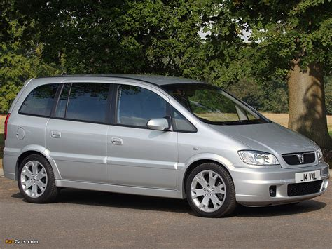 vauxhall zafira gsi 2001 05 pictures 1024x768