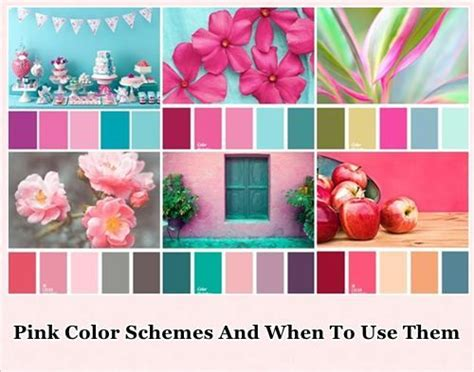 colors that compliment pink pink about it